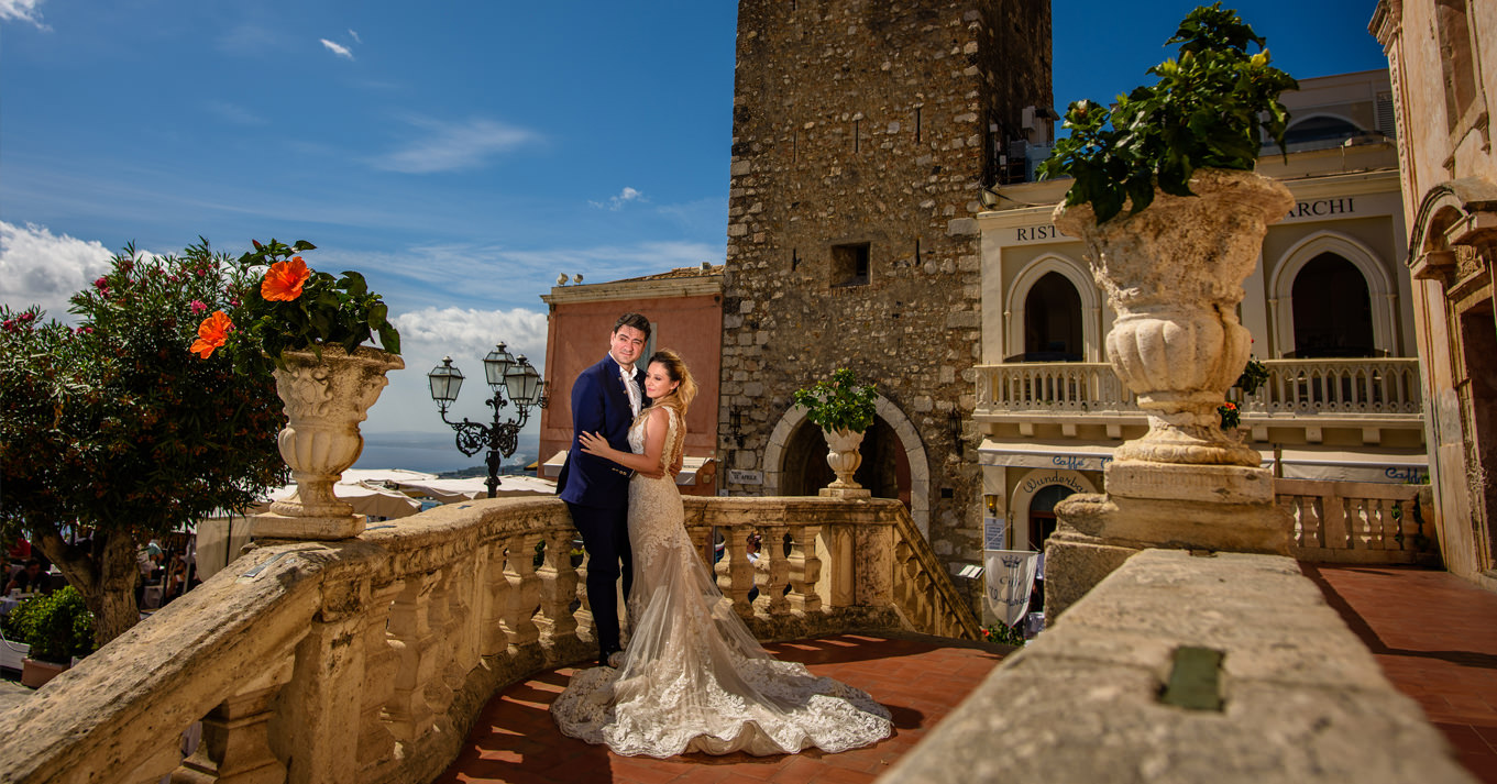 Filmare nunta Sicilia, Taormina - Cinematico