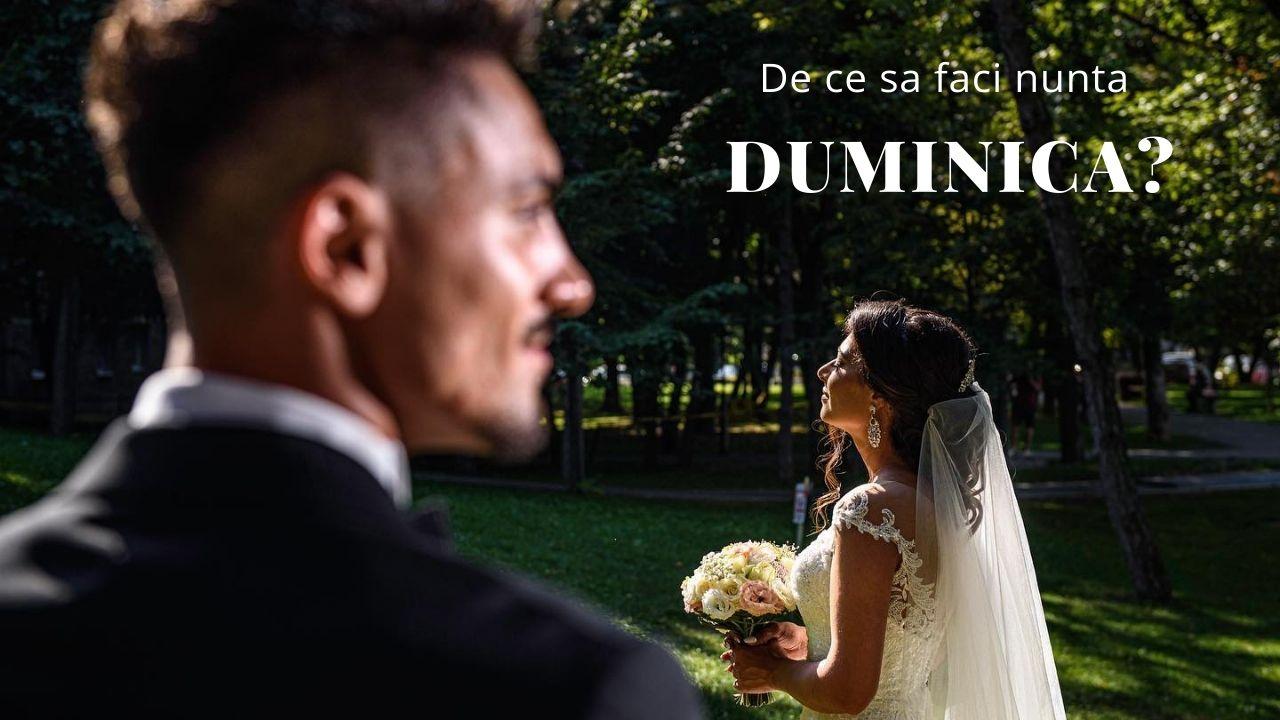 De ce sa faci nunta duminica?